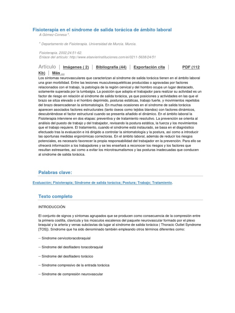 Encantador Anatomía De La Salida Torácica Patrón - Imágenes de ...