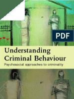 Understanding Criminal Behaviour;Psychosocial Approaches to Criminality