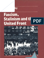 Fascism,Stalinism and the United Front