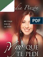 Y Yo Que Te Pedi Morir Claudia Pinzon