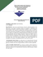 Ficha Diagnóstico