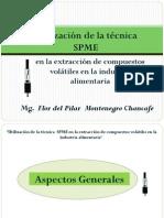 Utilizacion de La Tecnica Spme en La Extraccion de Compuestos Volatiles en La Industria Alimentaria_xiiconia2012