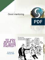 Good Mentoring