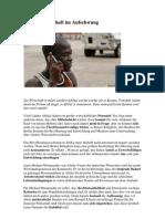 Afrikas Wirtschaft Im Aufschwung