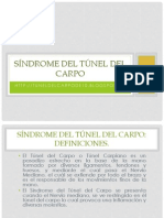 Síndrome del Túnel del Carpo 2