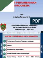 Bahan Paparan Kuliah Pak Yulian Taruna Final.ppt