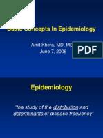 Basic Concepts in Epi 2006