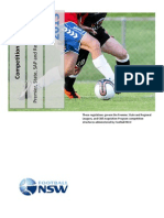 2013 Football NSW Competition Regulations