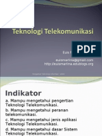 Materi 8 - Teknologi Telekomunikasi