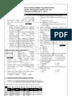 Ulangan Microsoft Office Excel 2007 Kelas 8