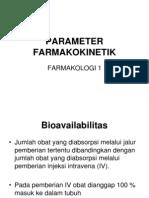 Parameter Farmakokinetik1