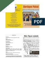 Abordagem Policial - Cartilha CDHS