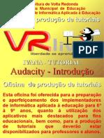 Oficina Audacity Ivana Paulo6 Dezembro2008