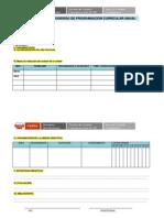 Modelo de Programacion Anual Primaria