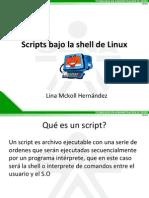 Scripts Bajo La Shell de Linux