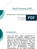 Digital Signal Processing [DSP]