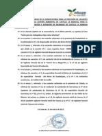 Rectificaciones de la convocatoria de concurso de traslados y promoción interna