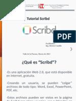 Como crear un Scribd y subirlo al Blog.pptx