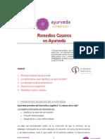 Remedios Caseros Ayurveda