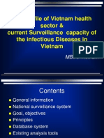 Current Surveillance Capacity of the Infectious Diseases in Vietnam