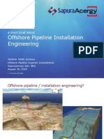 A Short Brief About Offshore Pipeline Installation Engineering