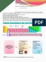 Poster de Elementos de La Tabla Periodica y Coloracion a La Llama