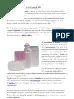 Aluminio en Desodorantes Es Nocivo Para La Salud