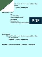 Epidemiology 1