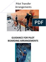 Pilot BOARDING ARRANGEMENTS