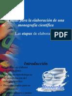 Pautas para la elaboración de una monografía científica 01