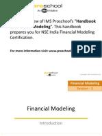 Basic Financial Modeling