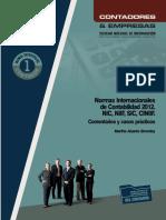 002 Normas Internacionales de Contabilidad 2012