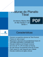 Fraturas do Platô Tibial