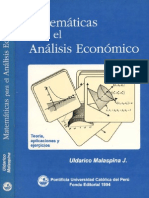 Mat Analisis Economico