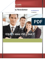 Equity News Letter 15march2013