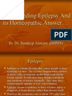 Understanding Epilepsy and Its Homeopathic Answer