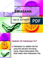KEBIASAAN
