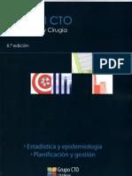 ESTADISTICA Y EPIDEMIOLOGIA. PLANIFICACION Y GESTION Manual CTO 8° ed.