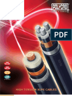 Polycab HT cable specification