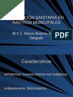 Inspeccion Sanitaria en Rastros Municipales