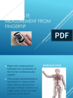 Heart Rate Measurement From Fingertip2003