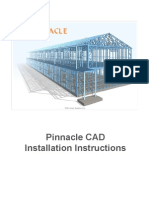 Pinnacle Cad Installation
