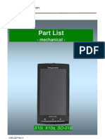 Sony Ericsson Xperia X10 Part List v4