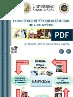 Constitucion y Formalizacion