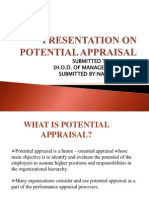 PRESENTATION ON POTENTIAL APPRAISAL.pptx