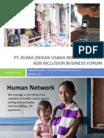 Pt Ruma - Adb Ib Forum