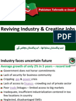 PTI Industrial Policy Vision