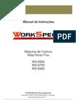 Manual Reta Ws-8700