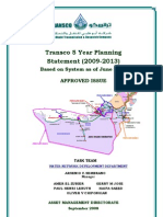 TRANSCO Water Five Year Planning Statement 2009-2013_Approved Issue