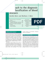 Aproach to Diagnosis and Classifcation of Blood Diseases